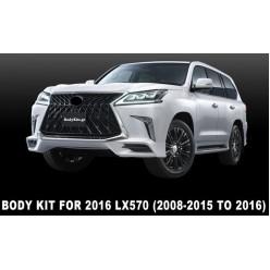 2008-2015 წლიანი მოდელი LX570-ის გადაწყობა 2016 წლიან მოდელზე
